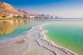 Dead Sea shortly after sunrise — Stock Photo