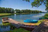 Rest on lake — Stock Photo