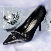 Black Pumps Fashion — Stock Photo