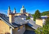Monastery of St. Peter in Salzburg — Stock Photo