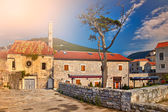Castle by the sea in Montenegro — Stock Photo