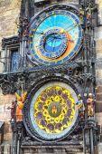 Prague Astronomical Clock, Orloj in the Old Town of Prague — Stock Photo