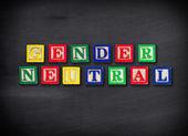 Gender neutral concept — Stock Photo