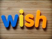 Wish concept — Stock Photo