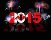 Canada, New year 2015. — Stock Photo