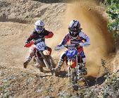 Motocross in Nava, Asturias, Spain — Stok fotoğraf