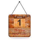 šťastný nový rok. — Stock fotografie