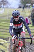 GIJON, SPAIN - JANUARY 11: Cyclocross Championships Spain in Jan — Stockfoto