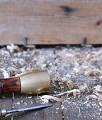 Carpenter tools. — Stock Photo
