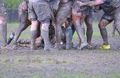 Meczu rugbyragbi maçı. — Zdjęcie stockowe