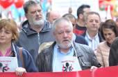 1st May demonstration in Gijon, Spain — Stock Photo