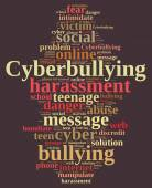 Cyberbullying. — Stock Photo