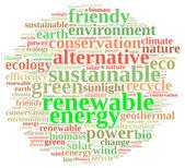 Renewable energy. — Stock Photo