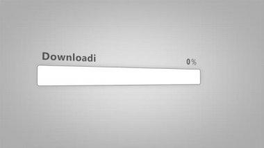 Downloading bar - Orange — 图库视频影像