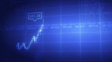 Gráficos stock aceite — Vídeo de stock