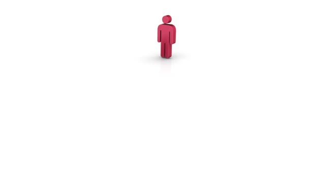 Red multicultural — Vídeo de stock