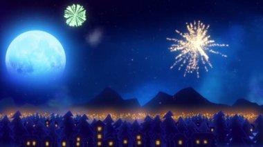 Firework concept — Stock Video