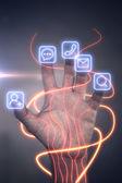 Internet Addiction  concept — Stock Photo
