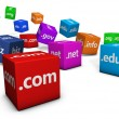 Web And Internet Domain Names — ストック写真 #63563889