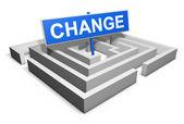 Change Concept — Stock Photo