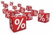Sprzedaży i rabatów — Zdjęcie stockowe