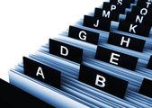 Управление бизнес-справочник — Стоковое фото
