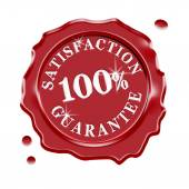 Satisfaction Guarantee Warranty — Stock Photo