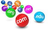 Domain Name Website Concept — Stock Photo