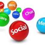 koncepcja web mediów społecznych — Zdjęcie stockowe #76790771