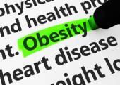 Obesity Healthcare Concept — Stock Photo