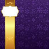 Noel dekorasyon çerçevesi. — Stok Vektör