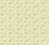 Valentine background seamless wallpaper (vector) — Stock Vector