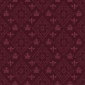 Retro wallpaper (vector) — ストックベクタ