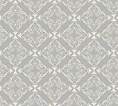 Damask Wallpaper Pattern (seamless) — Stock Vector