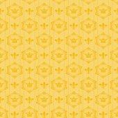Vintage vabstract background for design (Damask seamless) — ストック写真