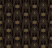 Vintage vabstract background for design (Damask seamless) — Stock Photo