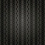 Black wallpaper in old style — Photo
