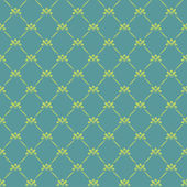 Wallpaper Retro Background Green — Stock Vector