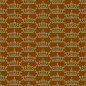 Wallpaper background seamless pattern for Your design. Color brown. — Vecteur