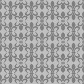 Wallpaper background seamless pattern for Your design. Color Grey. — Stock Vector