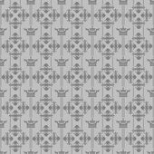 Wallpaper background seamless pattern for Your design. Color Grey. — Vector de stock