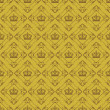Wallpaper Background. Seamless pattern. Old gold Color — Stock Vector #69480977