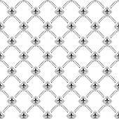 Wallpaper Background. Seamless pattern. Retro texture — Stock vektor