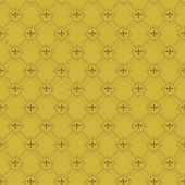 Wallpaper Background. Seamless pattern. Old gold Color — Vecteur