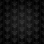 Wallpaper Background. Retro texture. Black Color. Vector image — Stock Vector