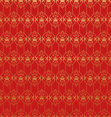 Wallpaper Background. Retro pattern. Red — Foto Stock
