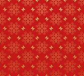 Wallpaper Background. Retro pattern. Red — Stockfoto