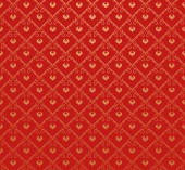 Wallpaper Background. Retro pattern. Red — Stock Photo