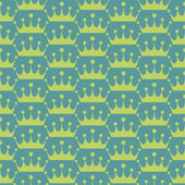Seamless pattern. Green — Stock Photo
