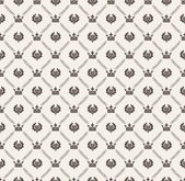 Seamless pattern. Retro Wallpaper — Stock Photo